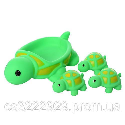 Игрушка для купания 522-3-4 (Черепаха)
