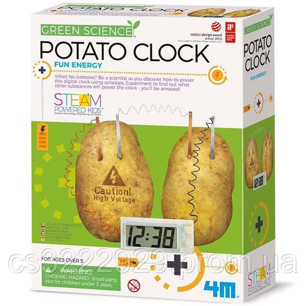 Набор для исследований Картофельные часы 4M (00-03275)