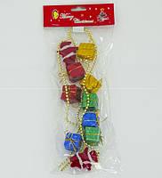Ёлочная игрушка 01108 (500) в кульке, 100 см