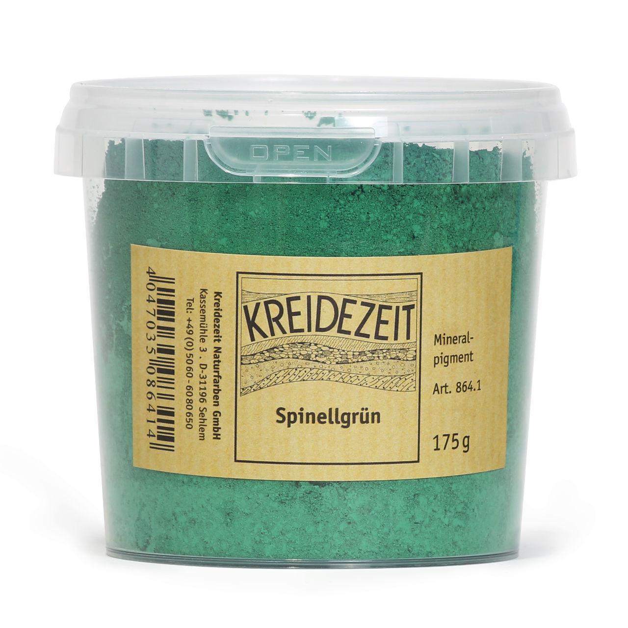 Натуральный пигмент, Шпинель Зеленая, Spinellgrun, Pigmente, Kreidezeit
