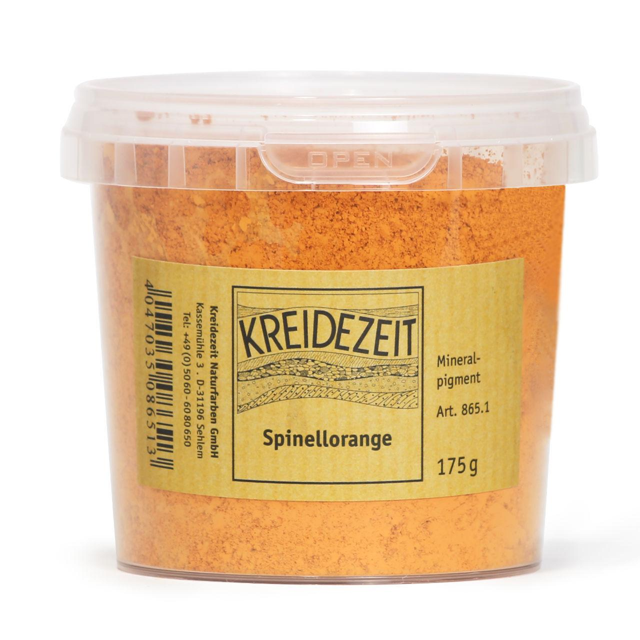 Натуральный пигмент, Шпинель Оранжевая, Spinellorange, Pigmente, Kreidezeit