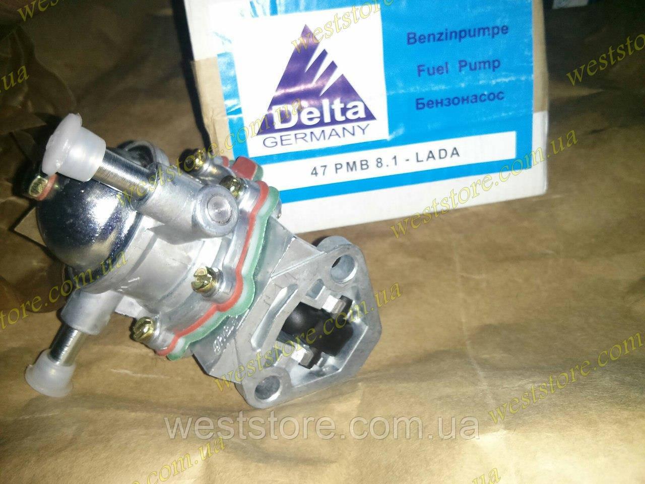 Бензонасос (насос топливный) Ваз 2101-07, DELTA Германия оригинал 47 PMB 8.1 - Lada