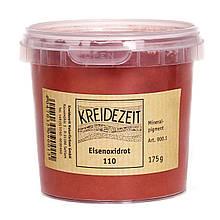 Натуральный пигмент, Оксид Железа Красный, Eisenoxidrot 110, Pigmente, Kreidezeit