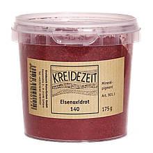 Натуральный пигмент, Оксид Железа Красный, Eisenoxidrot 140, Pigmente, Kreidezeit