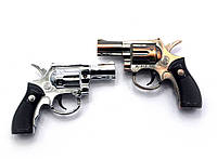 "Зажигалка газовая турбо ""Револьвер"" 6,5х5,5х2см (27748)"