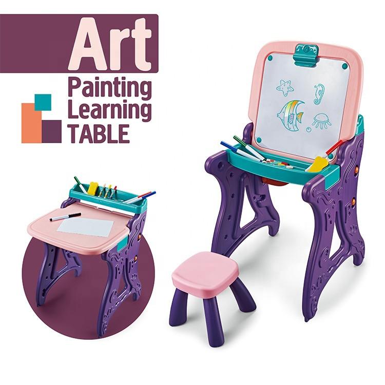 Мольберт детский пластиковый (Фиолетовый)