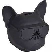 Колонка портативная Голова собаки 597-5 (Черный)