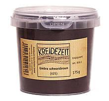 Натуральный пигмент, Умбра Черно-Коричневая, Umbra Schwarzbraun, Pigmente, Kreidezeit