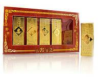 Золотые слитки 5шт 16,5х9х2см (23295)