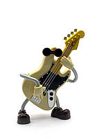 Игрушка музыкальная гитара Заводится ключом,при игре танцует 18х13х6см (27975)