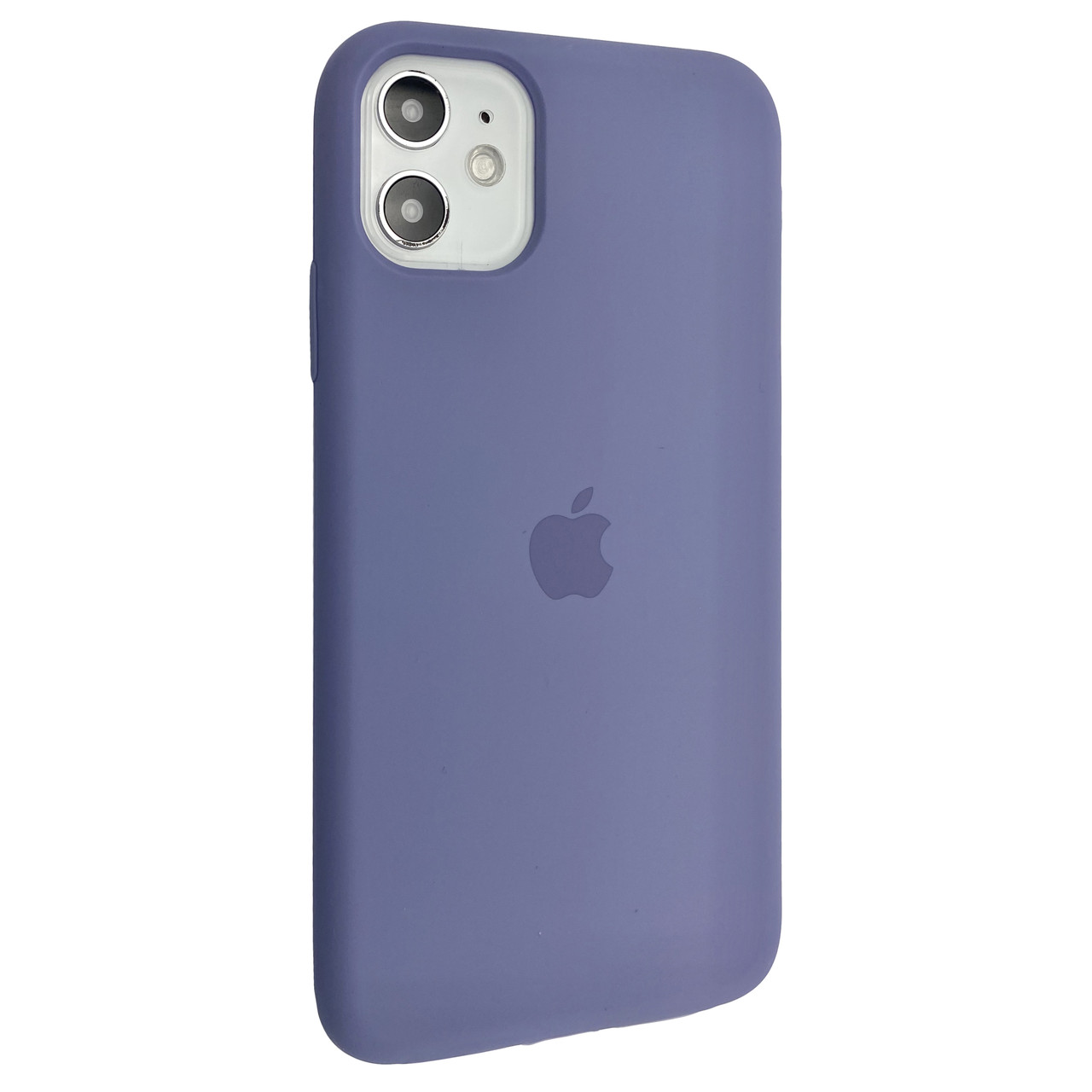 Чехол-накладка Silicone Case Full Cover для Apple iPhone 11  (lavender grey)