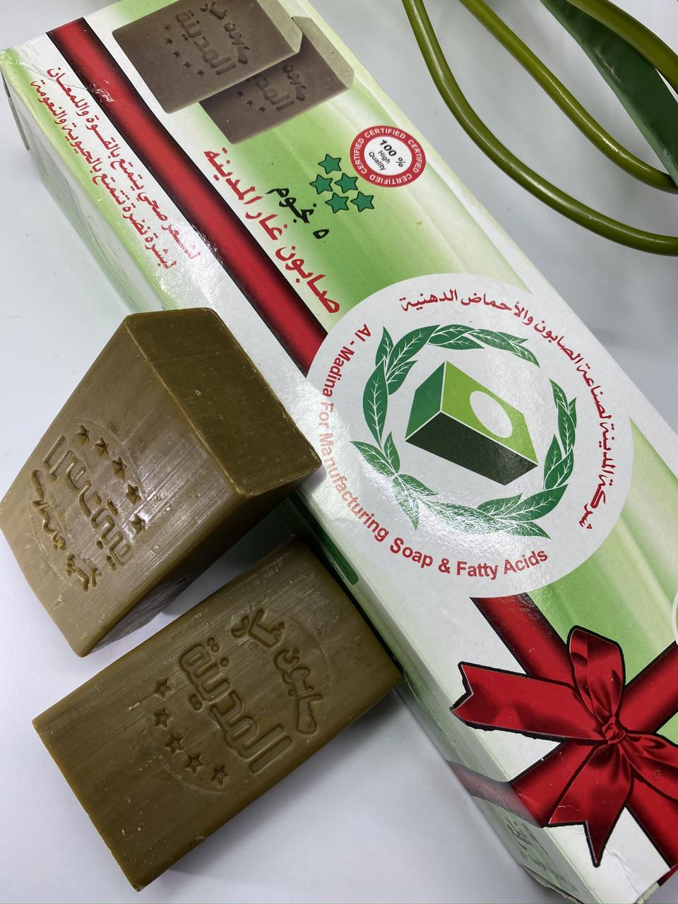 Мыло Алеппское лавровое с оливковым маслом 100 грамм