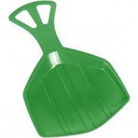 Детская ледянка выгнутая пластиковая Plastkon PEDRO Зеленый