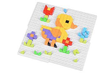 Детские обучающие пазлы-мозаика Same Toy Puzzle Art Animal serias 319деталей (5992-2Ut)