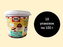 Цукрова паста-мастика 100 г, чорна
