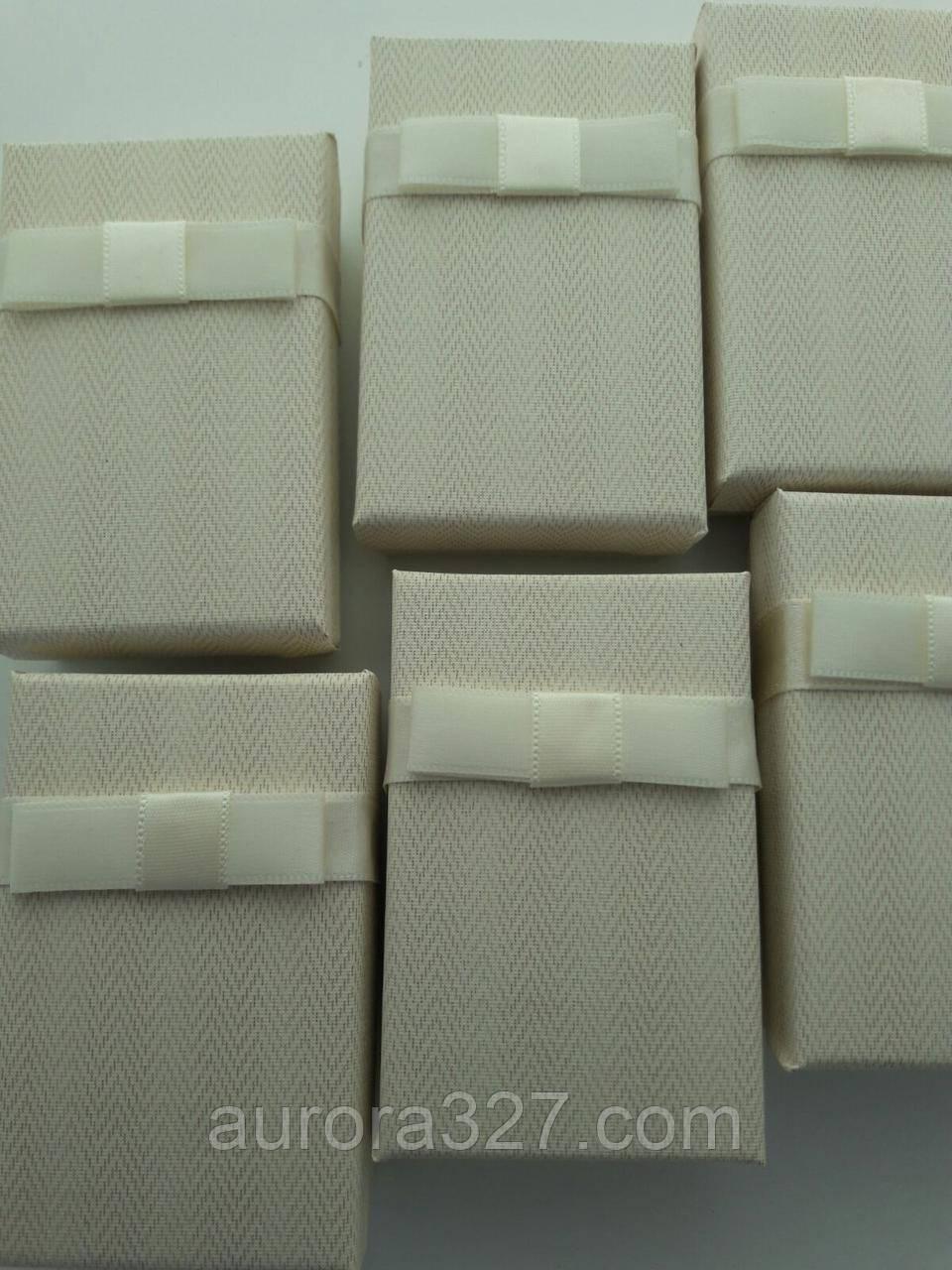 """Коробочка подарочная картонная """"Италия"""" Белый  5х8см"""