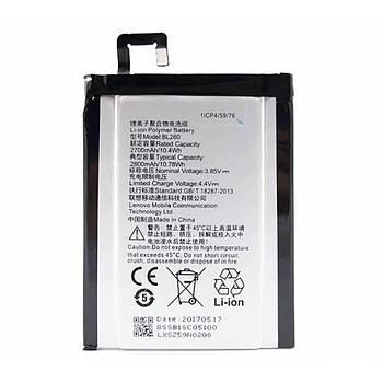 Акумулятор BL 260 Lenovo S1La40 2700mAh