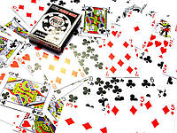 "Карты игральные пластиковые ""Poker playing cards"" (9,5х6,5х1,8см)"
