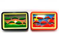 Картина песочная с зеркалом 13,5х9х3см (26881)
