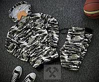 Мужской зимний камуфляжный спортивный костюм