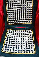Коврик с нефритовыми вставками в машину 40х110см (1602)