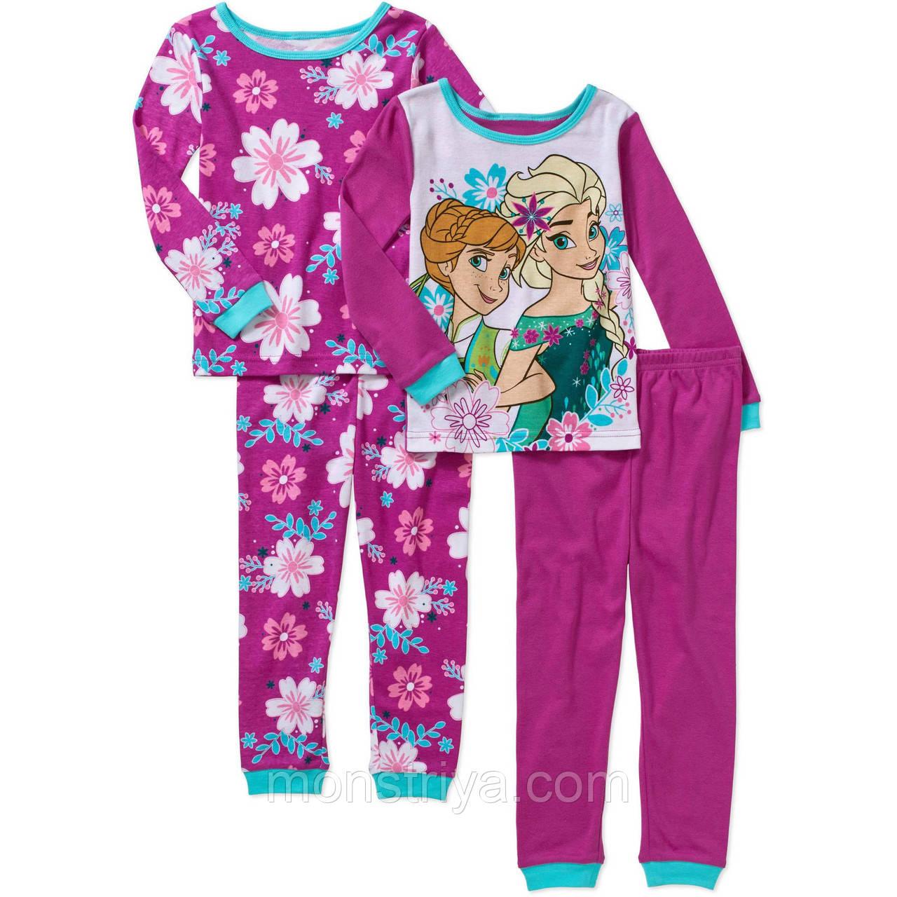 """Набор из 2 пижамок  """"Холодное сердце"""" Анна и Эльза"""