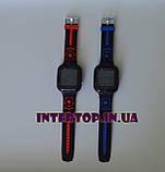 Детские смарт часы Smart Baby watch AISHI DS 60 с Wi-Fi сине - черный цвет +  2 ПОДАРКА. Детские GPS часы, фото 6