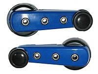 Ручки стеклоподъемника KW-2010 синие (пара)