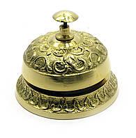 Колокольчик портье бронзовый 9х6х6см (28255)