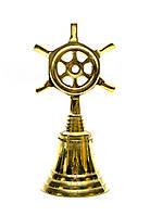 Колокольчик сошт урвалом бронзовый 12,5х6х5см (26599)