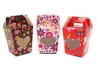 Коробка для подарков 15,5х9,5х9см (28561)