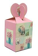 Коробка для подарков 5,5х5,5х7,5см (28407)