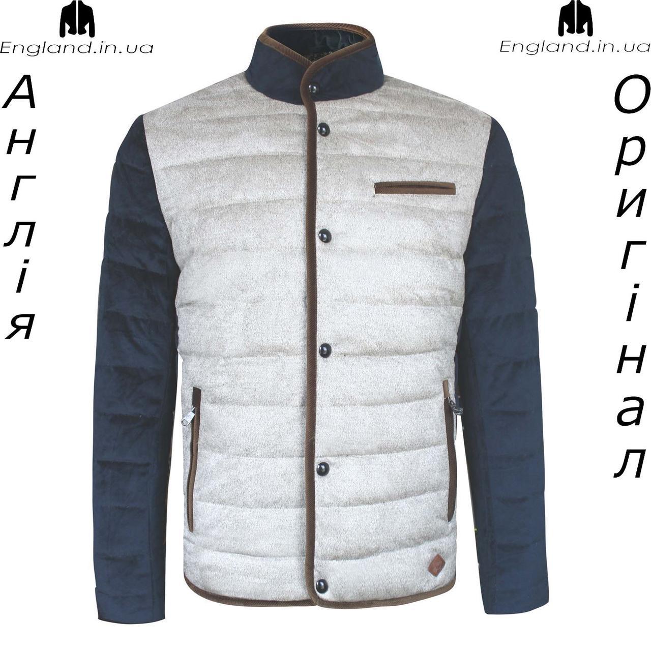 Размер М (наш 48й, но маломерит до 46го) - Куртка мужская пуховик Lee Cooper из Англии - осень/весна
