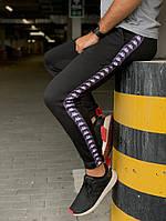Утеплённые штаны Kappa Черные