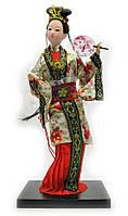 Кукла Китаянка фарфор 33,5х13,5х13,5см (21347)
