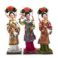 Кукла Китаянка фарфор 25х8х8см (22854)