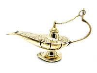 Лампа Алладина бронзовая 16,5х9,5х5,5см (23508)