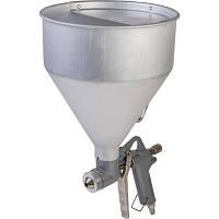 Пневмопистолет для нанесения цемента MIOL 81-562, три форсунки 4.5;6;8 мм, В/Б метал., 6000 мл, 3-6 bar