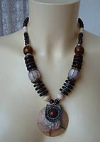 Ожерелье женское колье ручная работа бижутерия 4076