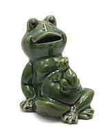 Лягушка керамическая 10х9х8см (25997)