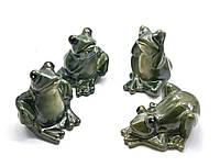 Лягушка керамическая 4 вида 10х8,5х5,5см (24523)