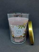 Свечи ароматизированные в стакане Биспол Bispol SPA 68 часов горения