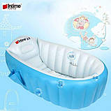 Надувная ванночка Intime Baby Bath Tub, фото 3