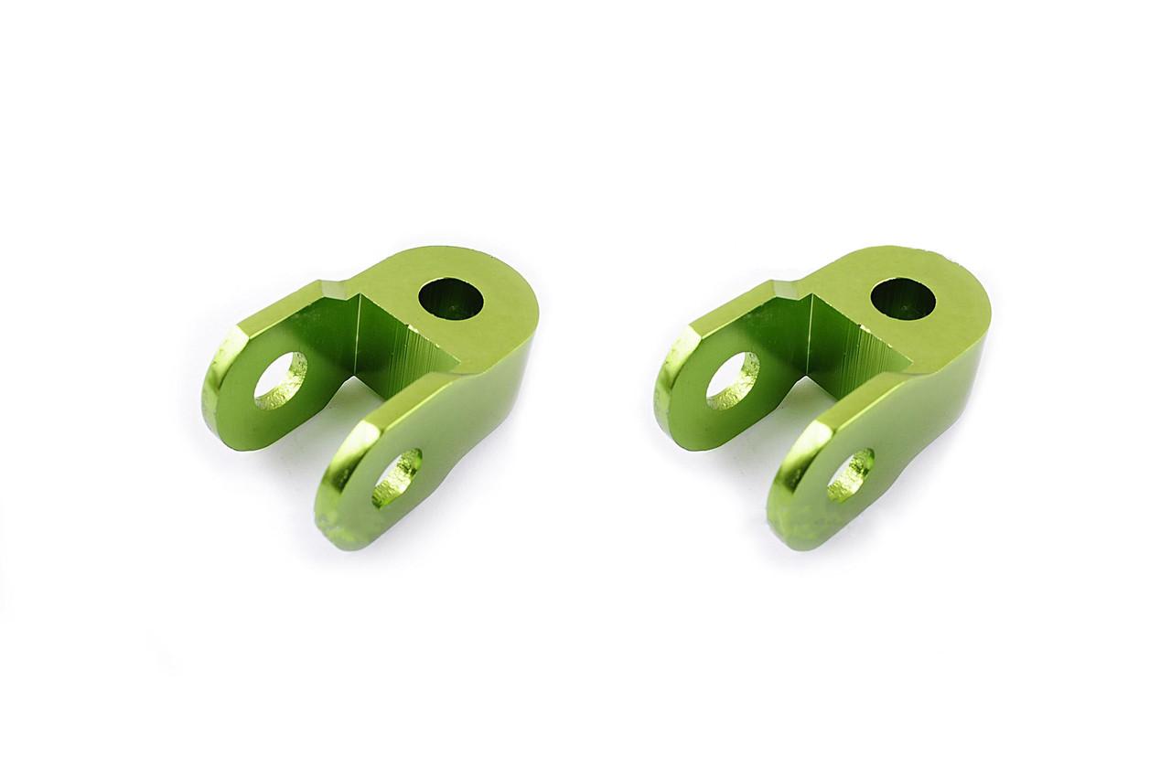 Удлинитель амортизатора (пара) 3см, Ø10мм (зеленый) RIDE