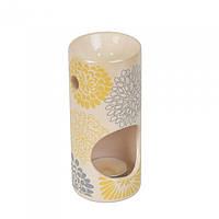 """Набор аксессуаров для аромотерапии """"Relax"""" 904069, в комплекте аромолампа, свеча, 16.5х7.5х8 см, в коробке, аромалампа, аромо-лампа"""