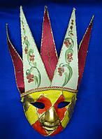 Маска карнавальная Венецианская 44,5см (29041)