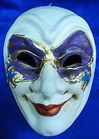 Маска карнавальная Венецианская папье-маше 24,5см (29023)