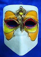 Маска карнавальная Венецианская папье-маше 16,5см (29038)