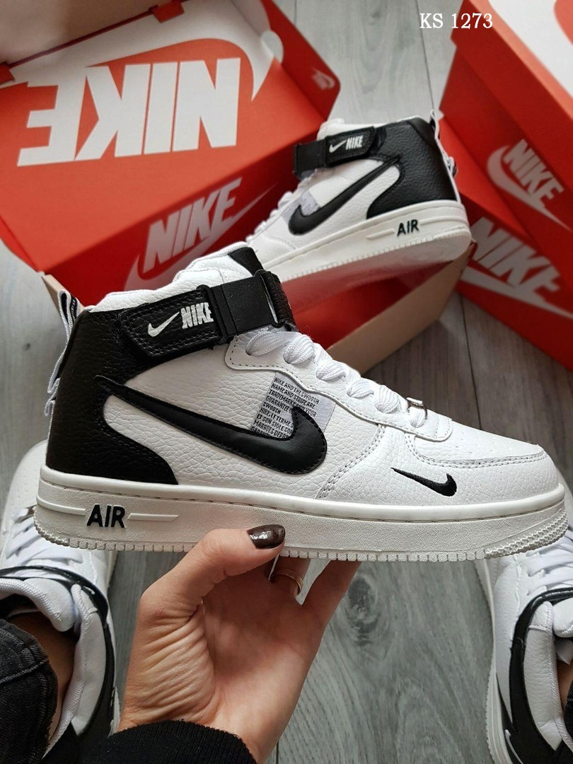 Зимние кроссовки Nike Air Force 1 НА МЕХУ