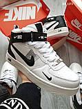 Зимние кроссовки Nike Air Force 1 НА МЕХУ, фото 2